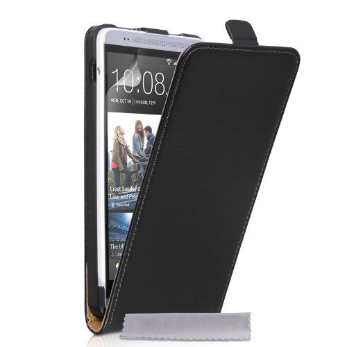 caseflex-htc-one-max-case-black-genuine-leather-flip-cover