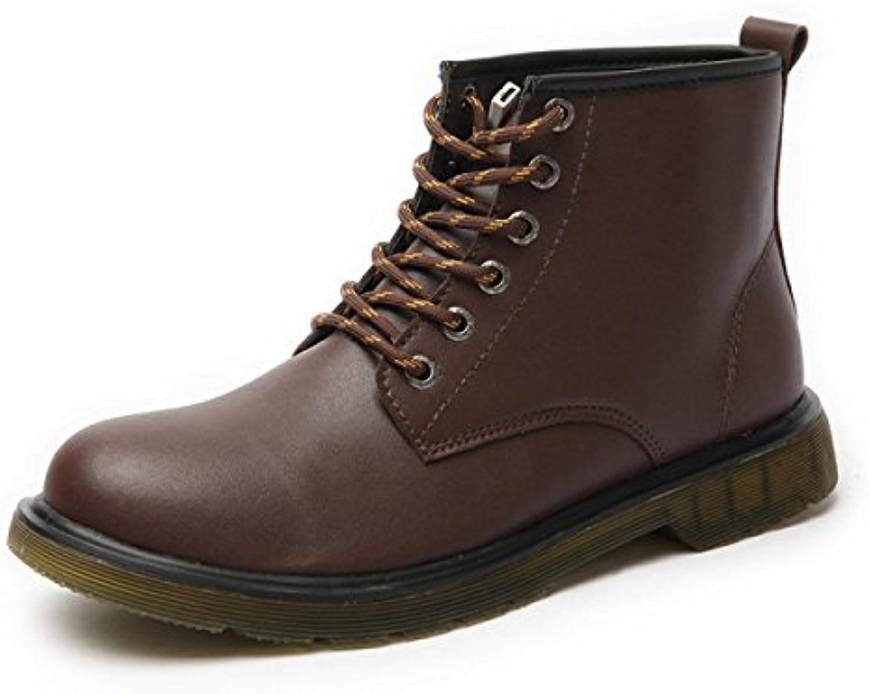 Herbst Und Winter Lässig Koreanische Version Martin Stiefel Mit LED Leuchten Männlich Britisch Hoch Werkzeug Schuhe