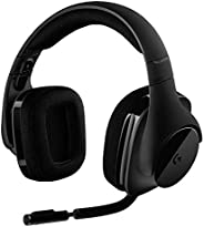 Logitech G533 Cuffie Gaming Wireless con Microfono, Audio Surround 7.1, Cuffie DTS: X, Driver Pro-G 40 mm, Can