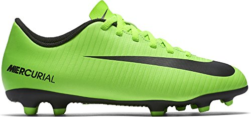 Nike Mercurial Vortex Iii (Fg) Firm-Ground, Scarpe da Calcio Unisex – Bambini Verde (Electric Green/blk-flsh Lm-wht)
