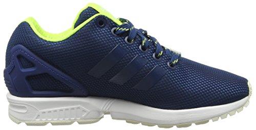 adidas Zx Flux, Chaussures de Running Compétition Homme Bleu (Shadow Blue/Solar Yellow/Halo)