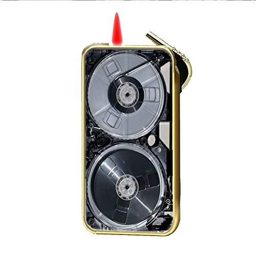 Chico Especificidad Metal Impresi¨®n Cassette Tape para Lighter of Gas