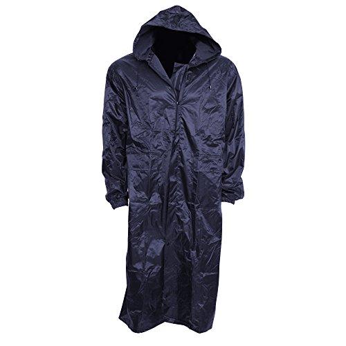dbe02a8c7e Cappotto impermeabile lungo con cappuccio - Uomo (