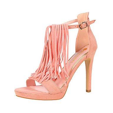 zhENfu donna tacchi Primavera / Estate / Autunno / Inverno Gladiator / Comfort / Novità Nozze in similpelle / Festa & sera abito / / Casual Blushing Pink