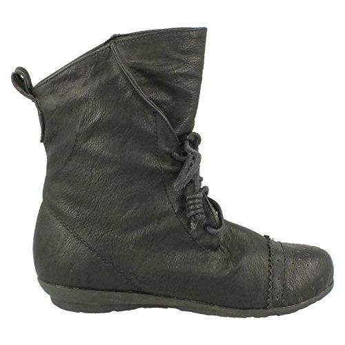 Cutie , Sandales Compensées Fille Noir - noir