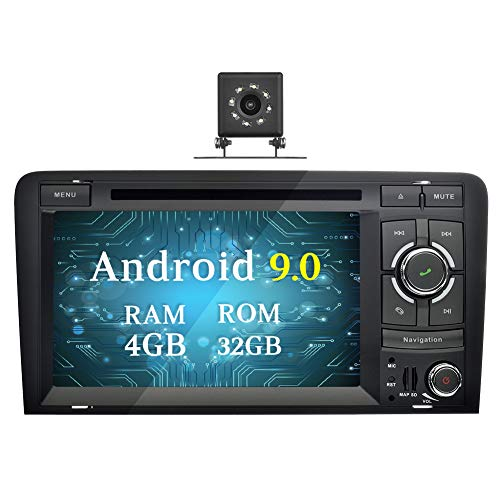 Ohok 2 DIN Android 9.0 Autoradio 7 Pulgadas PIE Octa