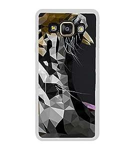 FUSON Tiger Face Graphic Designer Back Case Cover for Samsung Galaxy A8 (2015) :: Samsung Galaxy A8 Duos (2015) :: Samsung Galaxy A8 A800F A800Y