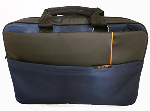 "Samsonite Qibyte Laptop Bag 15.6"" Bolso Bandolera, 11 Litros, Color Azul"