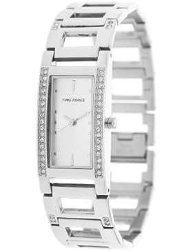 Time Force Damen Armbanduhr Bonny Silber TF4081L02M