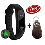 Xotak Heart Rate Monitor Bluetooth Health Fitness Tracker and More, Smart Band