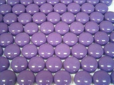 Round Mosaic Gems Purple