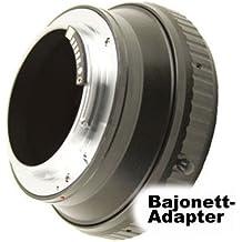 SIOCORE semi automática de adaptador (activa el Auto Enfoque pantalla en el visor) bayoneta de objetivo Hasselblad a bayoneta Canon EOS Cámaras Réflex