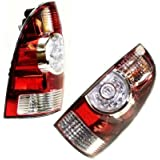 Evan-Fischer EVA15672062452 Tail Light Set of 2 Passenger & Driver Side Plastic lens OE design Amber, clear, red DOT, SAE approved by Evan-Fischer Auto Parts