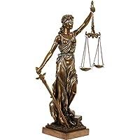 Escultura Justitia. bronceado