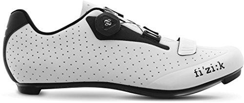 Fizik R5B Rennradschuhe Herren weiß/schwarz Schuhgröße 42 2018 Spinning-Schuhe MTB-Shhuhe