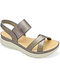 tresmode Women's Champagn Fashion Sandals
