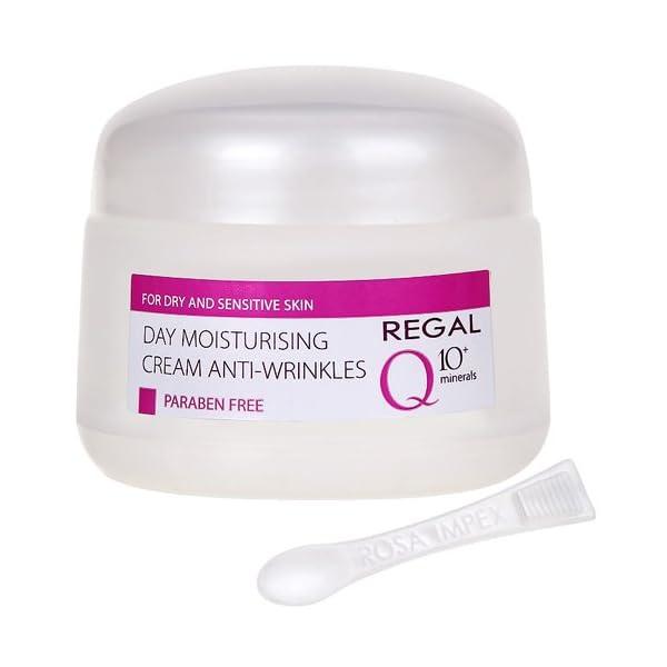 Regal Q10+ Crema de Día Hidratante Antiarrugas Piel Seca y Sensible