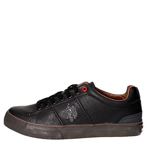 U.s. Polo Assn GALAN4169W6/Y1 Sneakers Uomo Pelle Sintetico Nero Nero 40