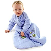 Slumbersac Saco de dormir de bebé Invierno manga larga aprox. 3.5 Tog, trenecito -