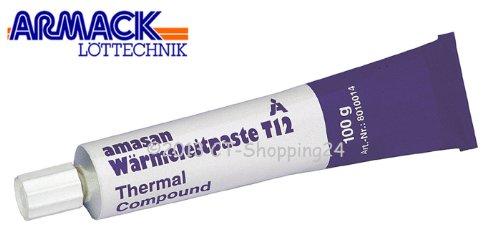 Amasan T12 Wärmeleitpaste (100 Gramm Tube)