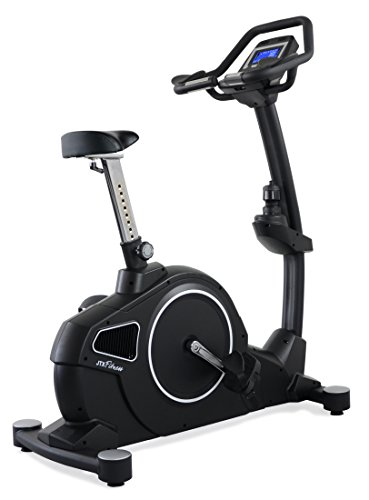 JTX Cyclo-5: Upright Gym Exercise Bike. Feature-Packed Bike with Advanced BLUETOOTH Computer