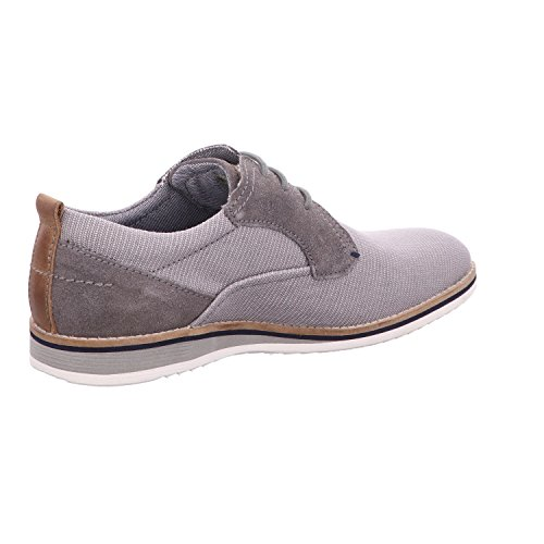 Bugatti Herren 311454056914 Derbys light grey / grey
