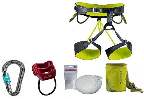 Camp Kletter-Set 1.4 - Klettergurt Größe L + Mammut Karabiner + Tube + Chalkball + Chalkbag