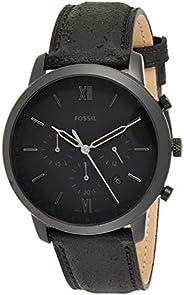Fossil Casual Gents Wrist Watch, Black