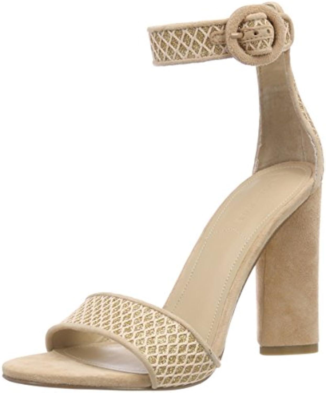 Kendall and Kylie Kkgiselle10, Sandali con Cinturino alla Caviglia Donna | Vinci molto apprezzato  | Scolaro/Signora Scarpa