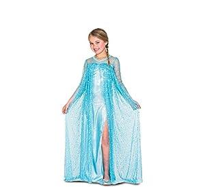 Fyasa 706501-t02hielo princesa disfraz, tamaño mediano