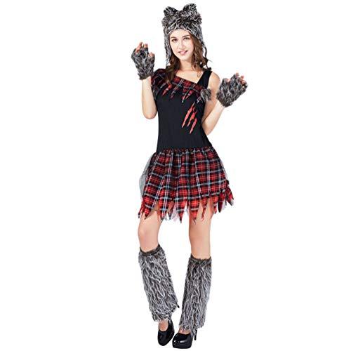YuanDian Adultos Disfraces Halloween Bloody Horror