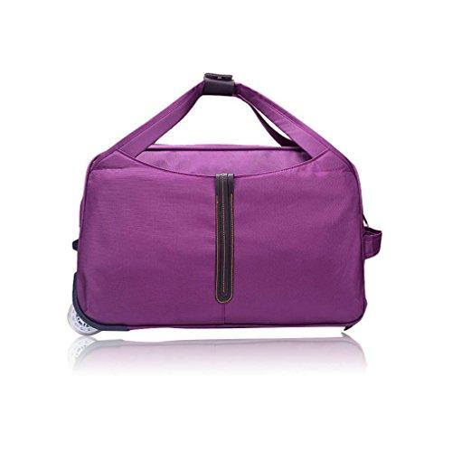 Lanowo  travel bag,  Umhängetasche, violett (violett) - ML-369 (Kipling Backpack Wheeled)