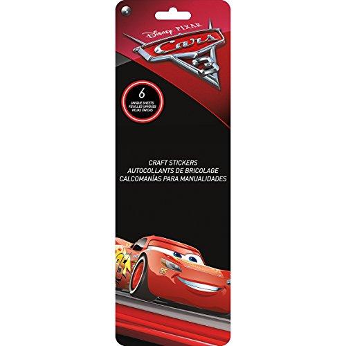 Sandylion Disney Flip Pack Stickers 6 Sheets-Cars 3
