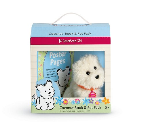 Coconut Book & Pet Pack [With Plush Dog with Collar] (American Girl) -