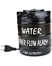 DELHI TRADERSS Plastic Water over Flow Tank Alarm with Voice Sound (Black)