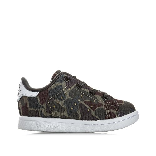 adidas Originals Baskets Stan Smith Camouflage Garçon