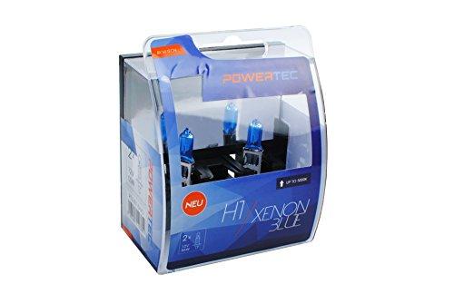 M-Tech PTZXB1-DUO Lampadina Powertec Xenon Blue H1 12V 55W