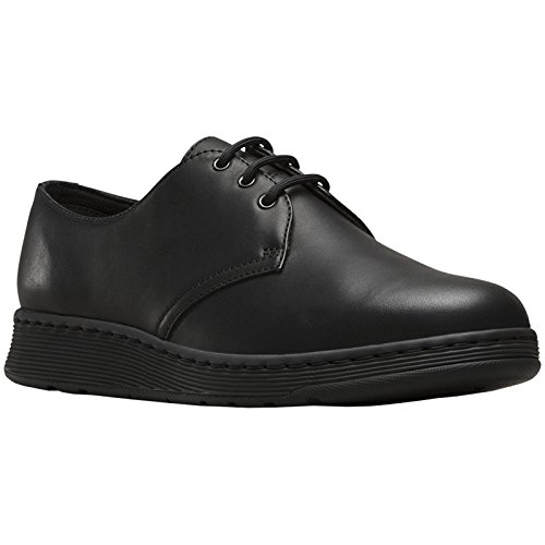 Dr.Martens Womens Cavendish 3-Eyelet Leather Shoes