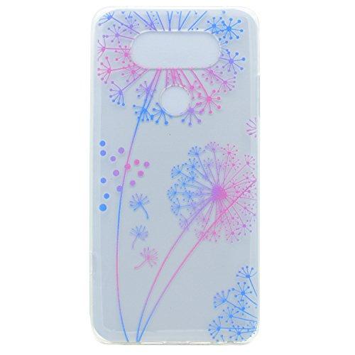 LG G6 Hülle,LG G6 Case,LG G6 Silikon Hülle [Kratzfeste, Scratch-Resistant], Cozy Hut TPU Etui Protective Case Ultra Dünn Schutzhülle Hübsches Bild Weiche Flexible Silikon-Gummi Tasche Anti-Kratzer Schützende Abdeckung Cover in 3D Farbe Blume für LG G6 - Pu Gongying Träume