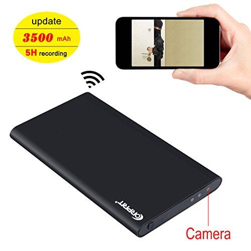 Cmara-Espa-WIFI-Corprit-HD-1080p-Inalmbrica-Oculta-Como-Power-Bank-de-2500mAh-Ultradelgado-Cmara-de-Seguridad-Encubierta-Con-Tarjeta-Micro-SD-de-16GB-Incluida