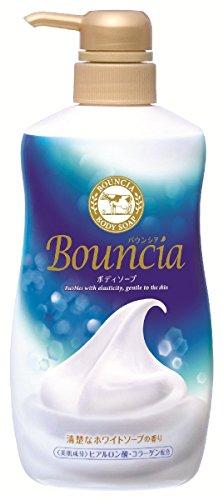 Gyunyu Bouncia Body Soap Premium Floral Pump (japan import)