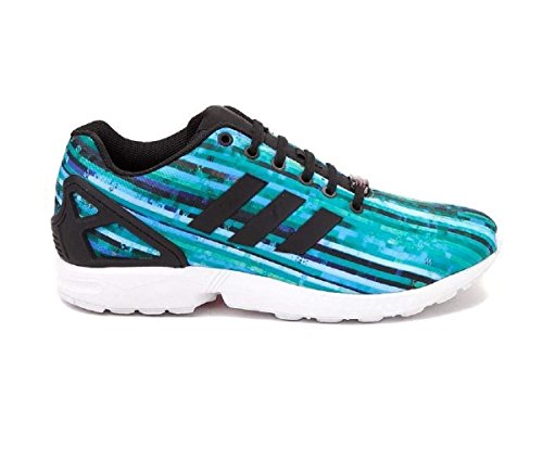 Baskets Unisexes Adidas Basse S76505 Zx Flux Blu