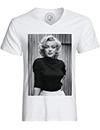 Marilyn Tattoo Heartbreaker Herren T-Shirt monroe rock punk tätowiert marylin us