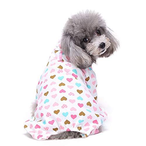 Vierbeinigen Kostüm - succeedtop Schlafanzug für Hunde und Welpen, Baumwolle, mit vierbeinigen Beinen