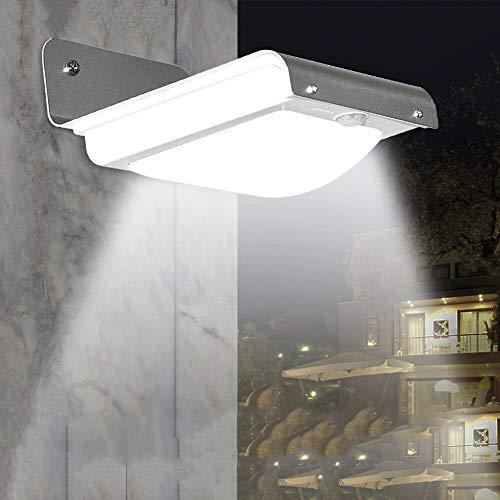 Thermischer Komfort (BuBu-Fu Solar-LED Beleuchtet Bewegungs-Sensor IP67 Im Freien, Drahtlose wasserdichte Automatische Schalter-Thermische Induktions-Sicherheits-Beleuchtungs-Solarwand-Lichter, Super Helle Wand-Laternen)