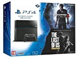 PS4 Playstation 4 1 TB Black Model No Cuh-1208 with 1 Year Warranty and 2 Games Free Uncharted 4 And Last Of Us