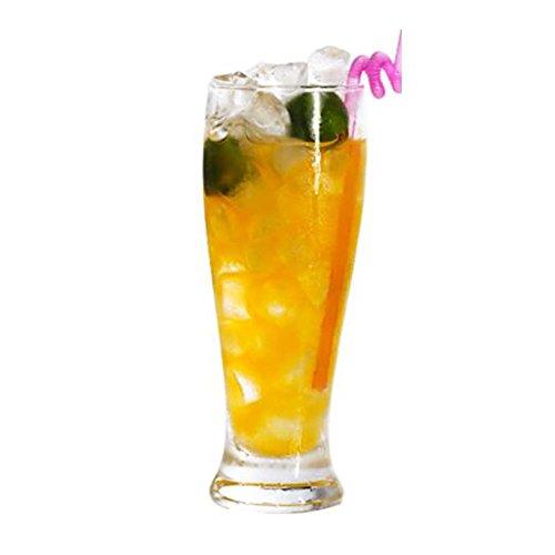 Black Temptation Elegante Goblet Party Gläser Heavy Base Saft Gläser Trinken Wein Cups, A 4