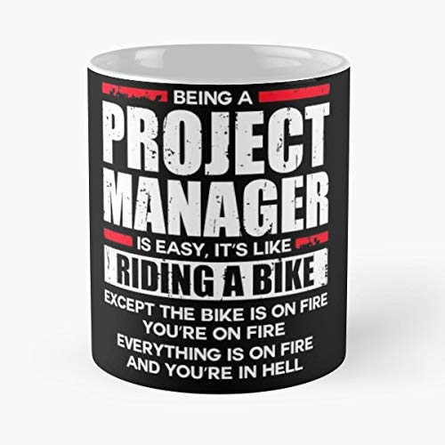 Project Manager App Best Gift Ceramic Coffee Mugs