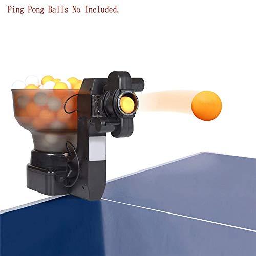 LXT PANDA 36 Spins Tischtennisball-Maschine mit automatischer Tischtennis-Maschine für das Training, automatische Tischtennis-Roboter-Pitching-Maschine Elektrische Ballmaschine mit Ladegerät.
