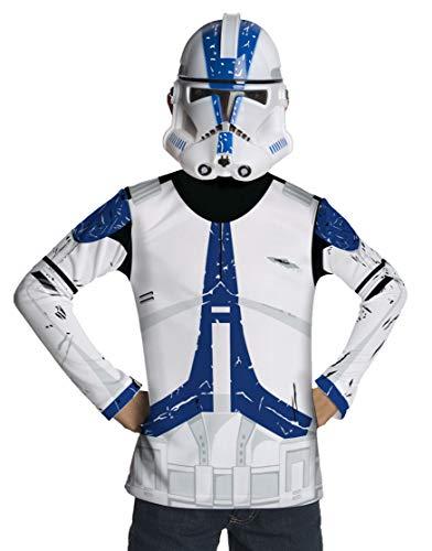 Rubie's 3881329 - Kostüm für Kinder - Clonetrooper Dress up, L